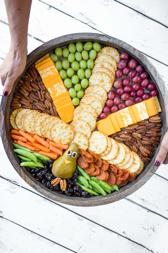 Thanksgiving Turkey Board by The Baker Mama