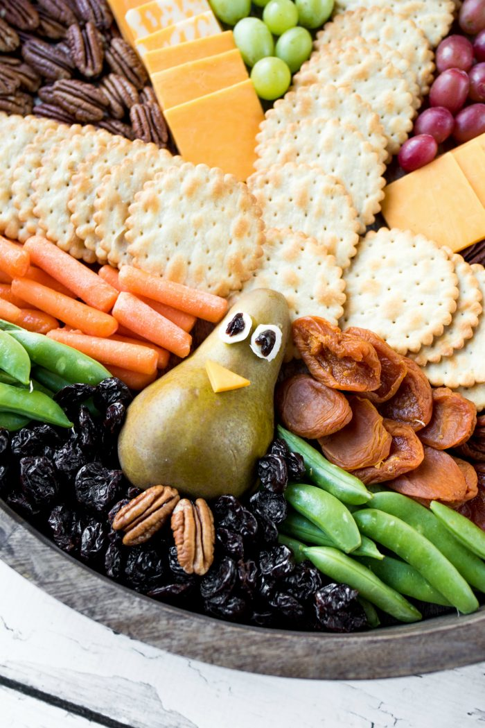 Easy Thanksgiving Turkey Board