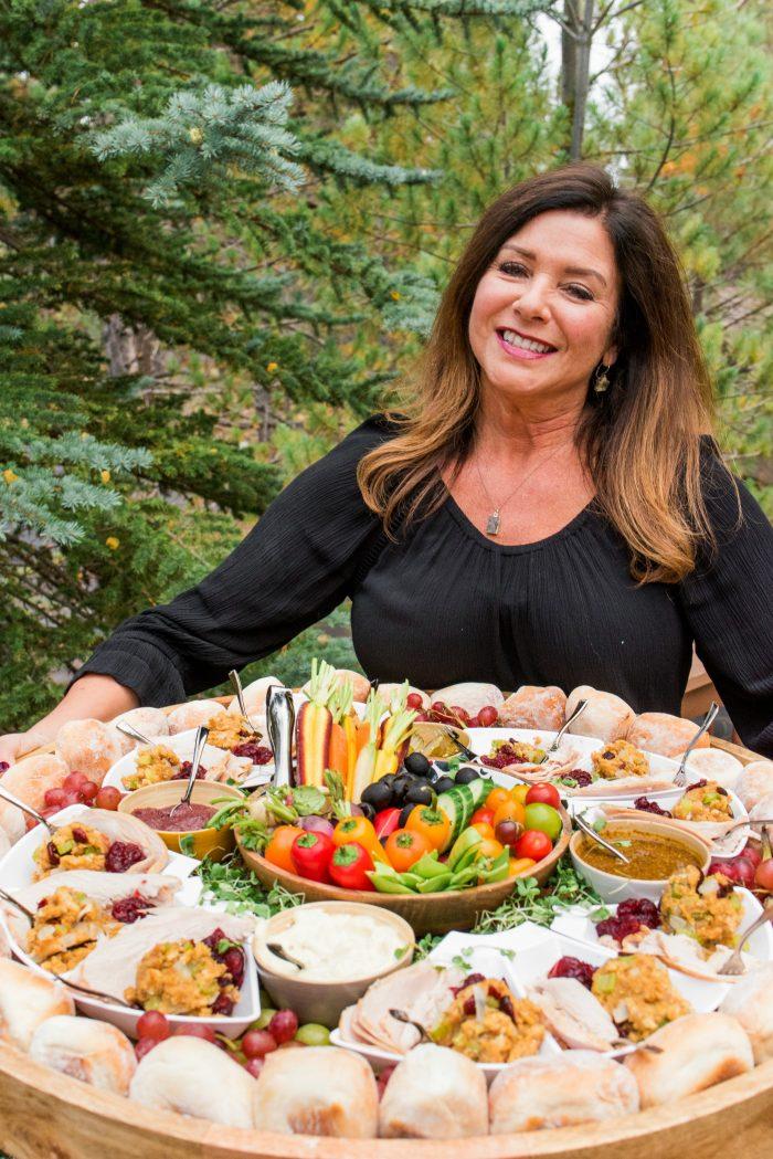 Friendsgiving Turkey Sandwich Board Recipe