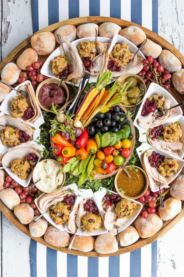 BEST Friendsgiving Turkey Sandwich Board