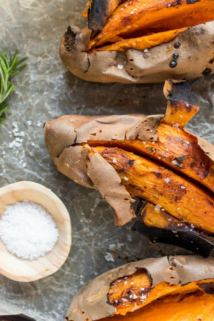 How to bake perfect sweet potatoes