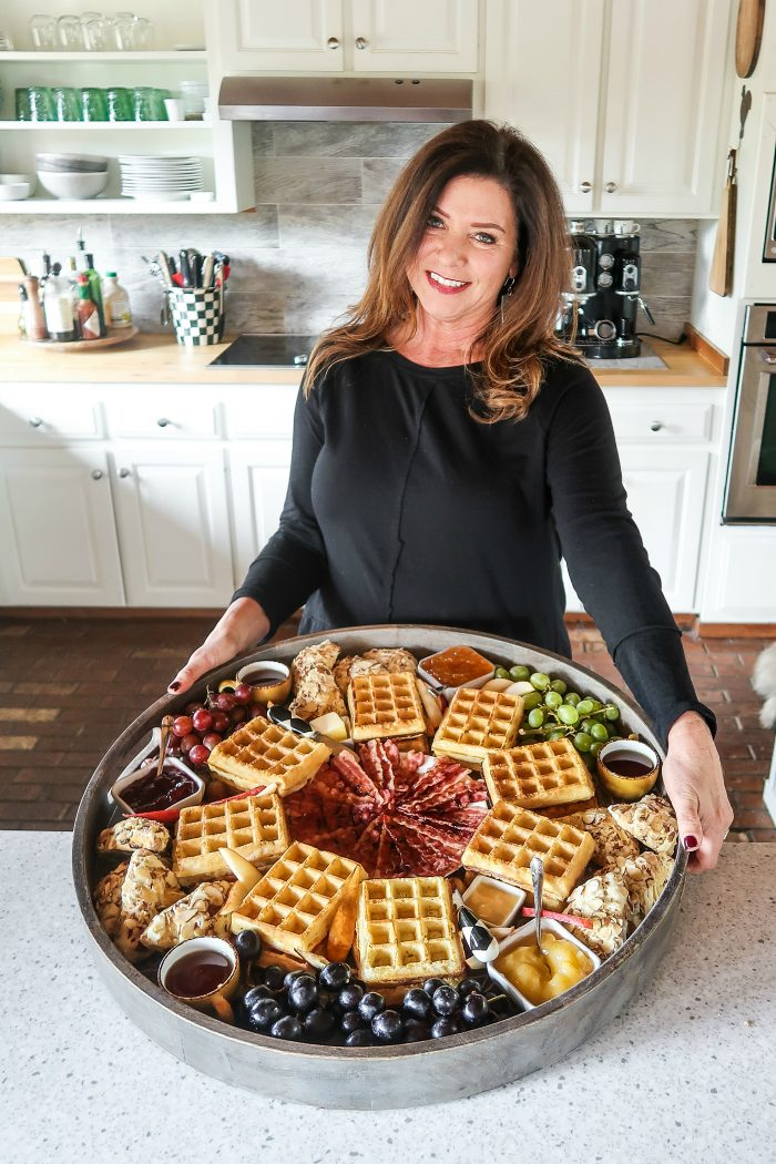Trader Joe's Belgian Waffle Board