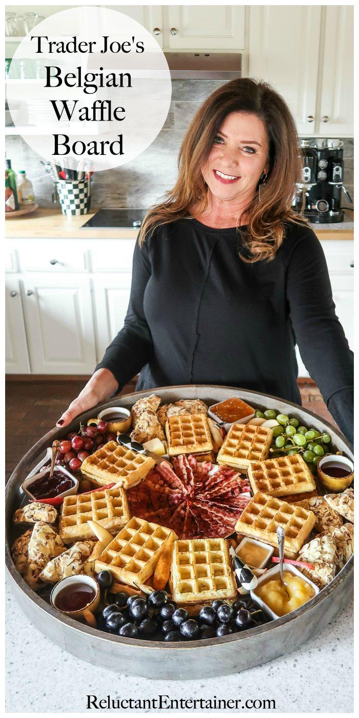 Trader Joe's Belgian Waffle Board Recipe