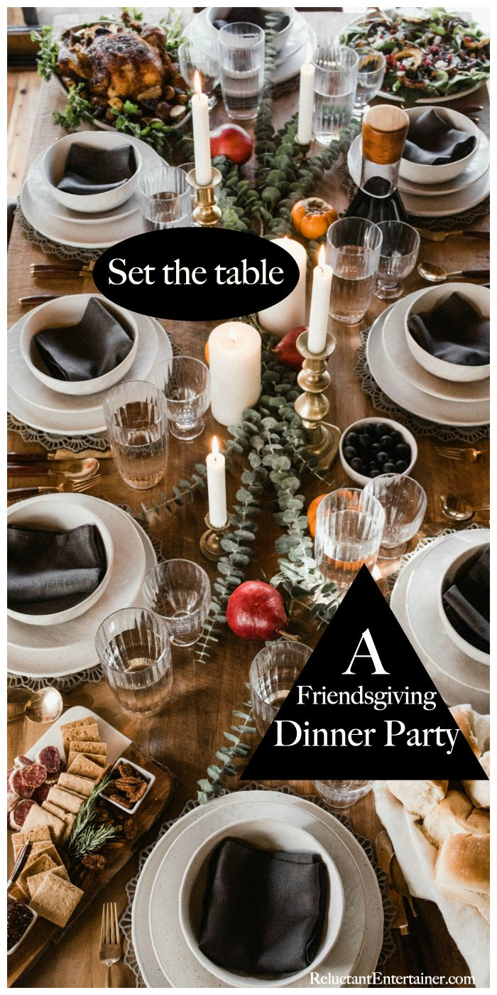Friendsgiving Dinner Party