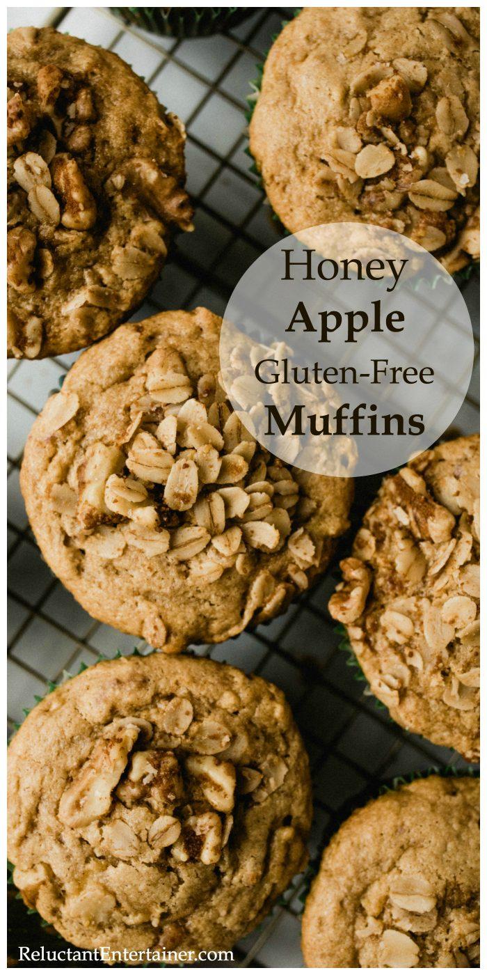 Honey Apple Gluten-Free Muffins Recipe