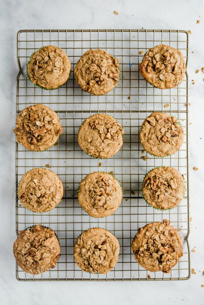 16 Honey Apple Gluten-Free Muffins