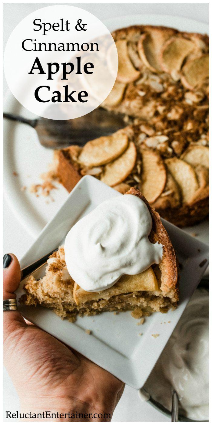 Spelt Cinnamon Apple Cake Recipe