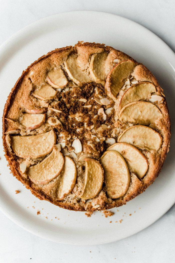 Spelt Cinnamon Apple Cake