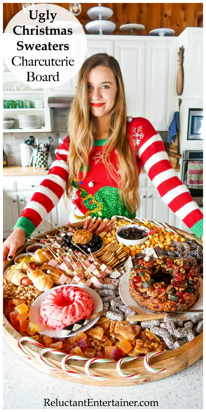 Ugly Christmas Sweaters Charcuterie Board Recipe