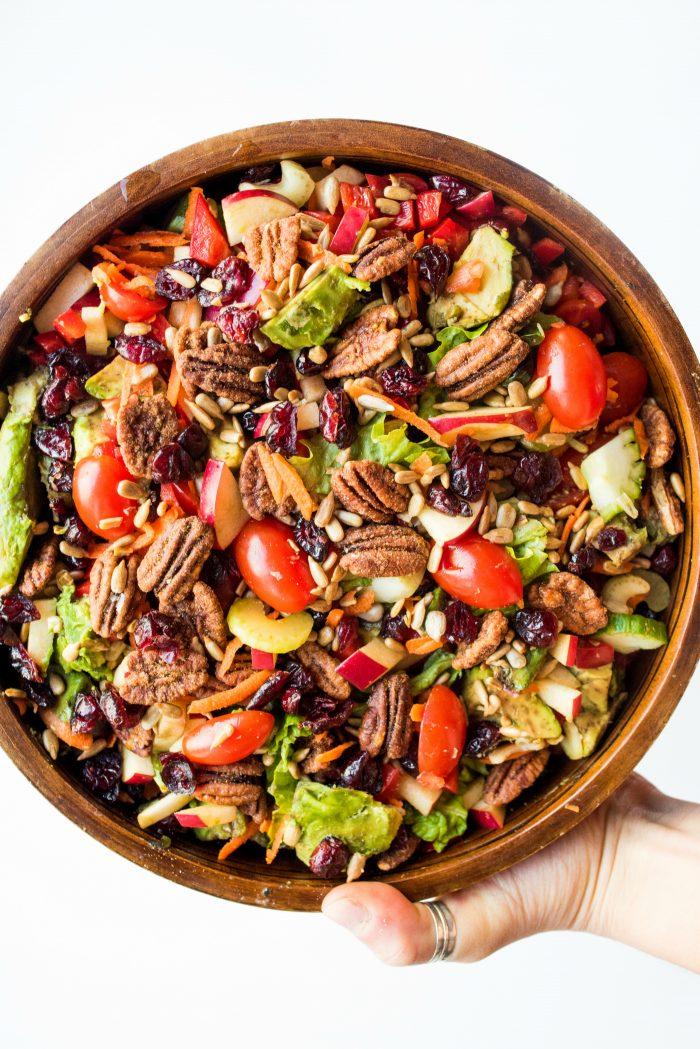 Meg's Winter Green Salad Recipe
