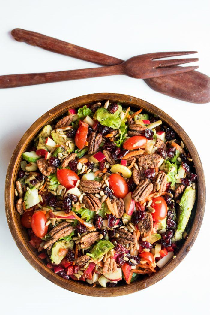 best Winter Green Salad Recipe