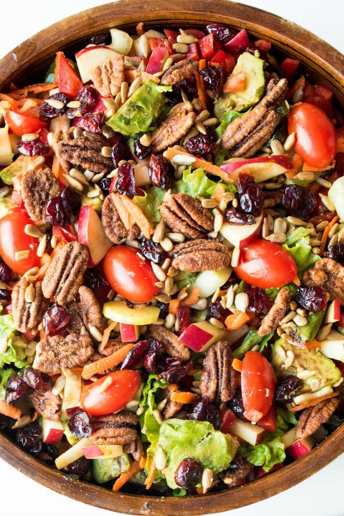 Winter Green Salad Recipe
