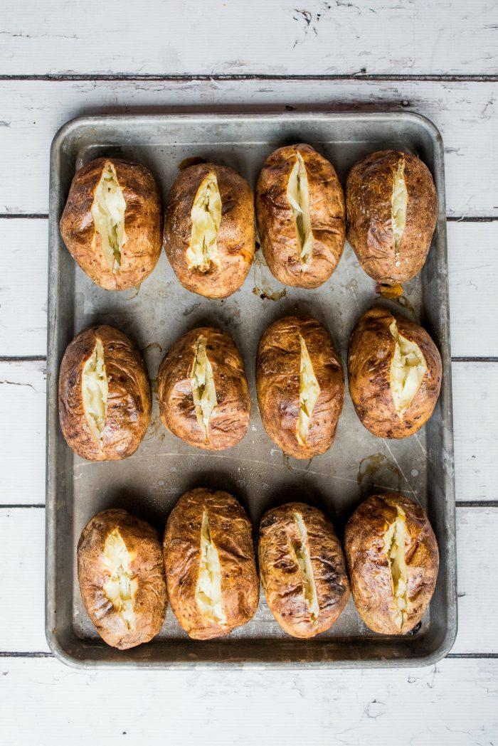 Baked Russet Potatoes Recipe