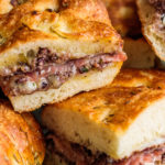 Charcuterie Sliders with cheese