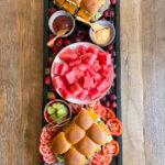 Mini Burger Slider Board